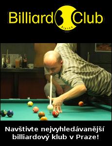 Billiard Řipská - nejvyhledávanější billiardový klub v Praze