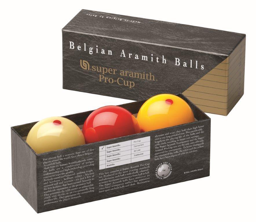 Billiard Balls Carom Super Aramith Pro Cup 61 5 Mm 3